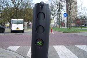 fietser groen