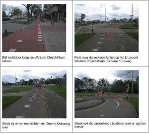 Voorbeeld routebeschrijving verkeersexamen