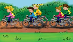 fietsen-in-een-groep