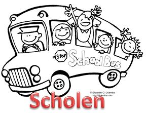 Vervoer-scholen